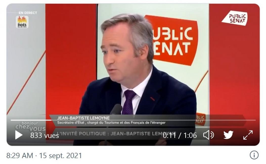 Jean-Baptiste Lemoyne : « je ne comprendrai pas que nos télécabines ne puissent pas rouvrir »