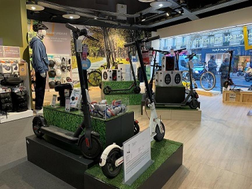 Fnac/Darty veut ouvrir des magasins de mobilité urbaine