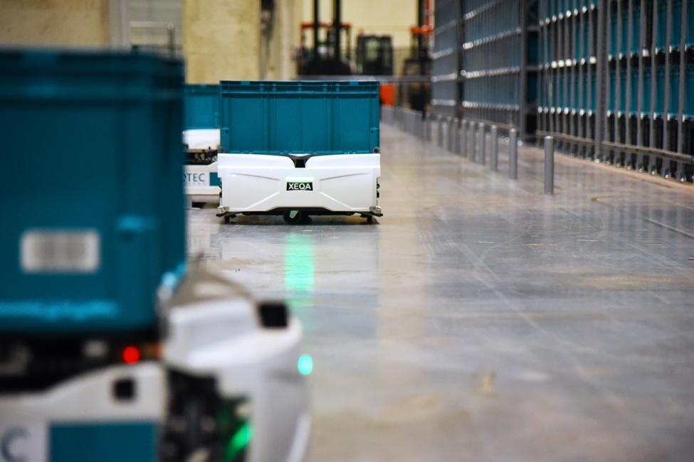 Decathlon étend la robotisation de ses entrepôts pour le ecommerce