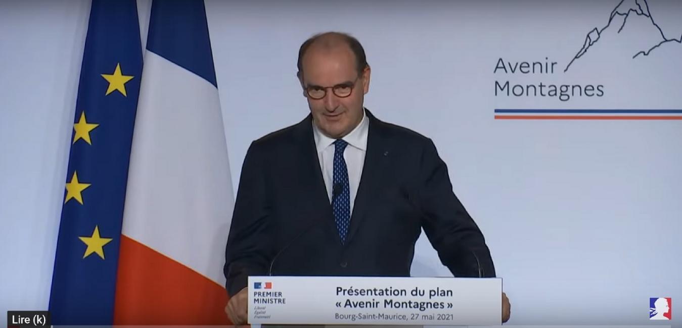 Les extraits principaux du discours de Jean Castex à Bourg St Maurice