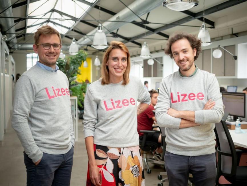 """Tanguy Frécon (Lizee) : """"3 boutons pour un produit : neuf, occasion, location"""""""