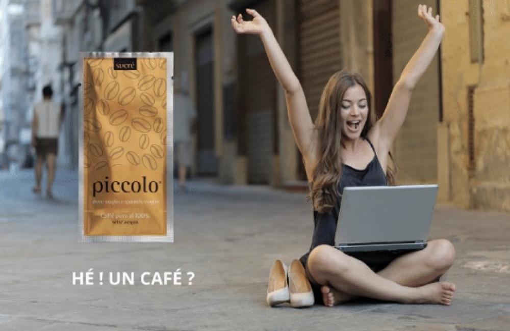 """Piccolo® : le café de poche """"Made in Italy"""" à consommer sans eau et sans modération"""