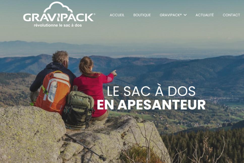 Gravipack veut bousculer le marché des sacs-à-dos