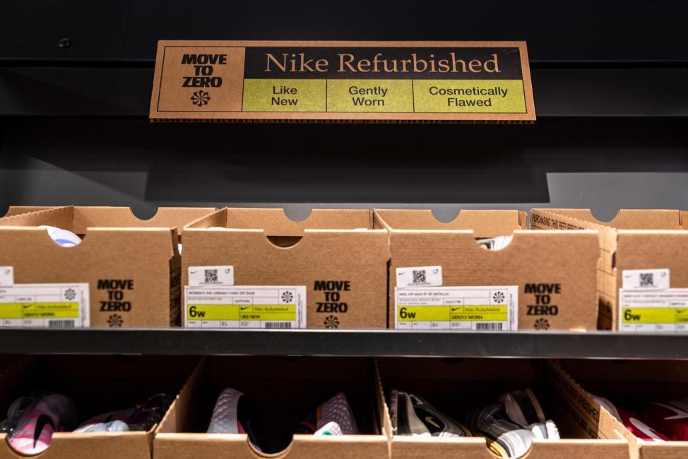 Nike Refurbished, l'offre 2nde main portée par le leader mondial