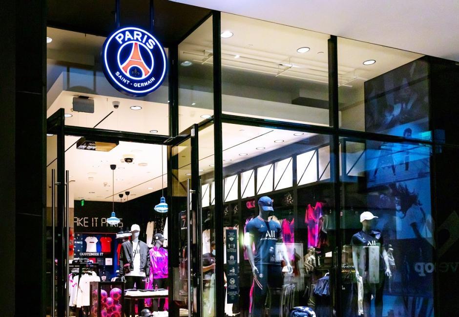 Le PSG possède désormais sa boutique aux Etats-Unis
