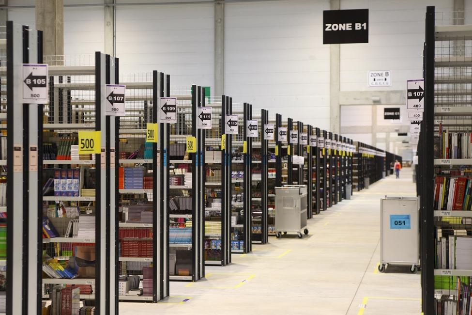 Amazon se fait livrer un entrepôt géant près de Metz