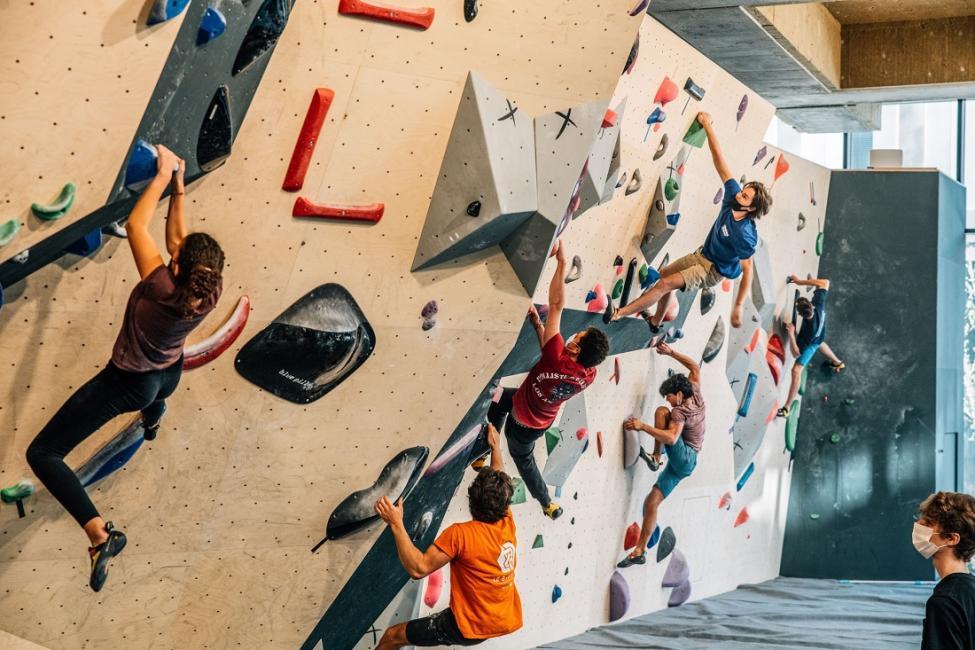 Climbing District s'assure