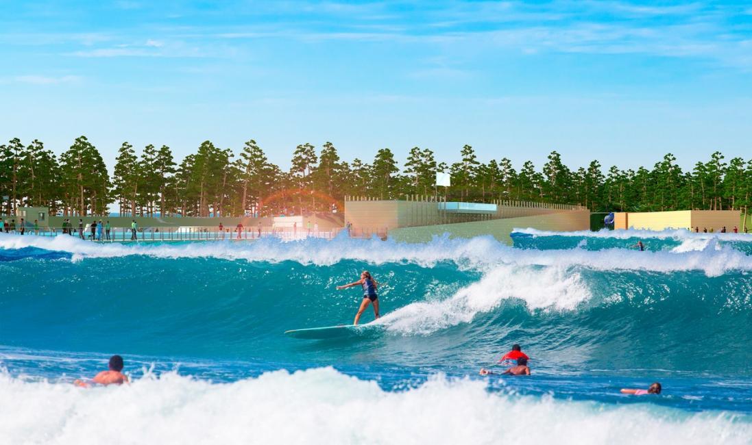 Le parc à thème landais dédié au surf se relance en plein JO