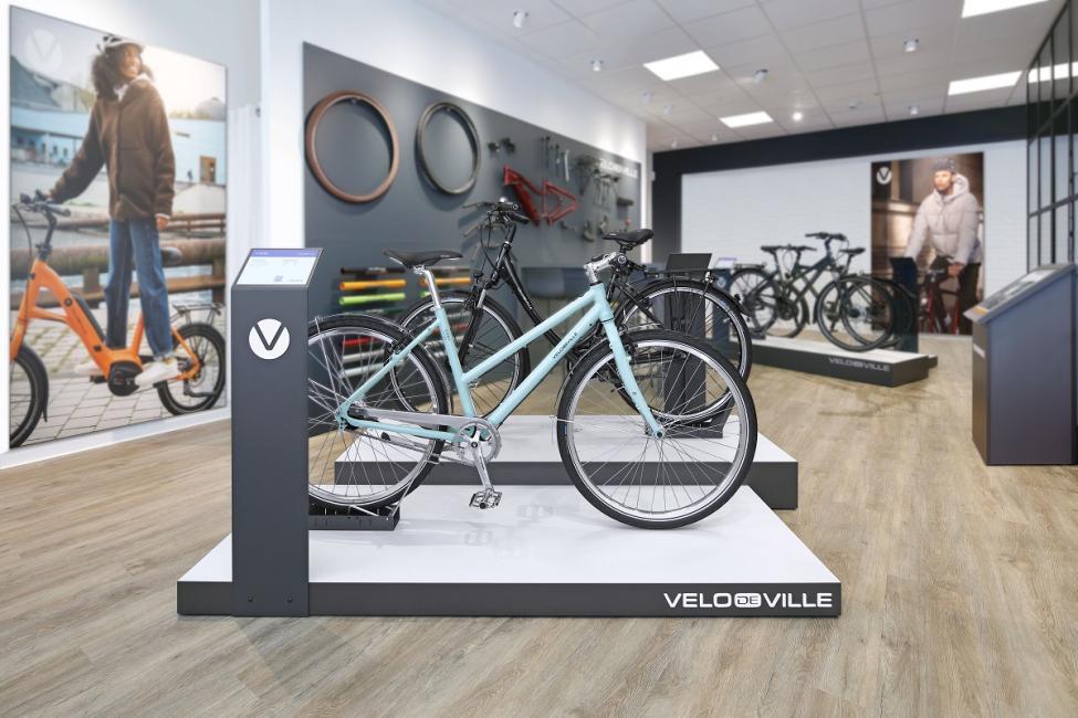 Velo de Ville va ouvrir ses premiers shop-in-shops en France