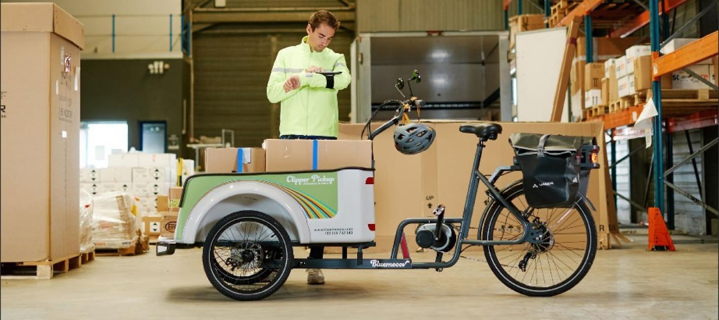 Des financiers doivent monter à bord des vélos cargo Bluemooov