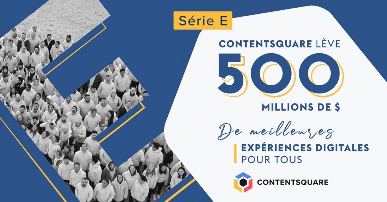 Contentsquare lève 500 millions