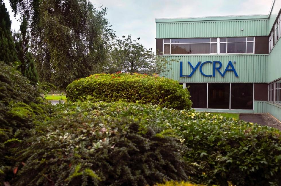 Six sites de fabrication The Lycra Company évalués