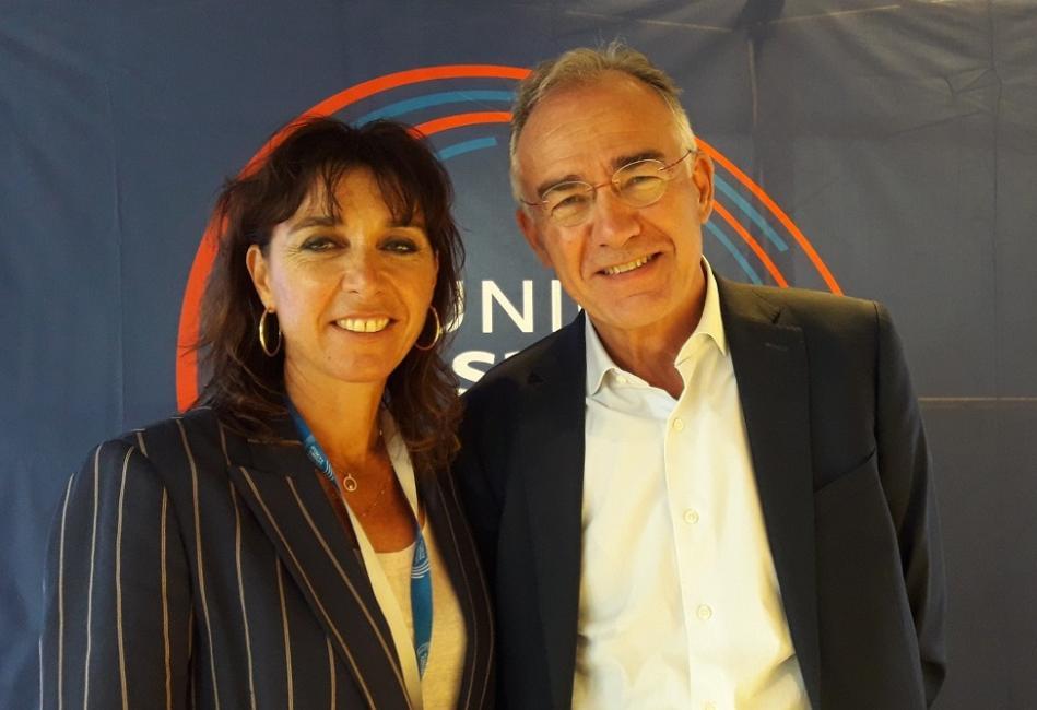 Pascale Gozzi élue à la présidence de l'Union