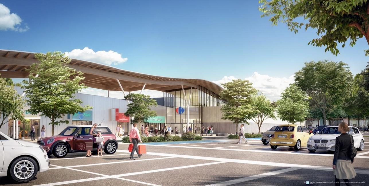 Intersport se déplace pour la nouvelle zone commerciale d'Aurillac